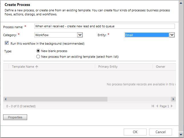 Standard Enquiry workflow setup 1
