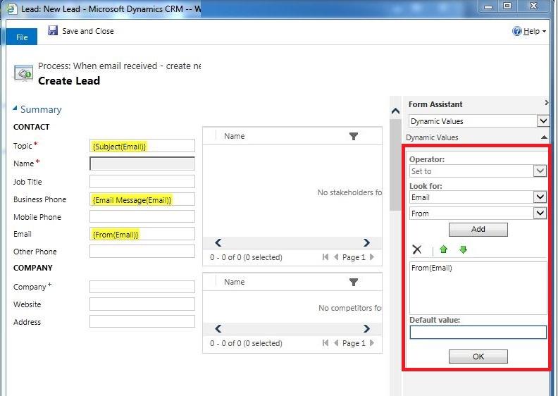 Standard Enquiry workflow setup 7